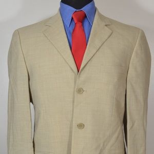 Andrew Fezza 39R Sport Coat Blazer Suit Jacket
